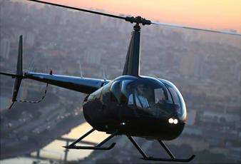 seguranca com helicoptero